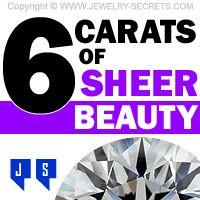 ►► 6 CARATS OF SHEER BEAUTY ►► Jewelry Secrets