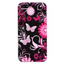 Capa iPhone 5 - Gel Flores 3  5,99 €