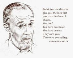 The Elite in the US, By George Carlin