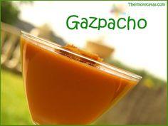 Gazpacho # Ahora que empieza el calor, el gazpacho lo hago todos los fines de semana. A mi marido y a mí nos gusta muchísimo. Antes de tener la thermomix me daba mucha pereza hacerlo, porque no pesaba ... »