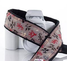 Spirit Symbols Camera Strap, Tribal, fits dSLR, SLR and Mirrorless cameras, Canon, Nikon, Sony, Pentax, Photography, 250