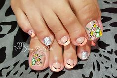 French Pedicure, Pretty Toes, Nail Designs, Nail Art, Nails, Beauty, Work Nails, Pedicures, Finger Nails