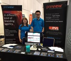 Preview team at digital expo