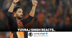 Mumbai Indians gave Yuvraj Singh an IPL lifeline by buying him at his base price at the last moment in the auction. Yuvraj Singh, Mumbai Indians, Critic, Abs, Baseball Cards, Sayings, Crunches, Lyrics, Abdominal Muscles