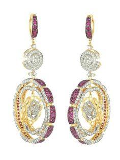 zoya tanishq diamond earrings
