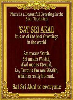 Sikh way of greeting . Sikh Quotes, Gurbani Quotes, Punjabi Quotes, Hindi Quotes, Quotations, Qoutes, Guru Granth Sahib Quotes, Sri Guru Granth Sahib, Sikhism Religion