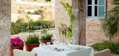 una mesa romántica para dos