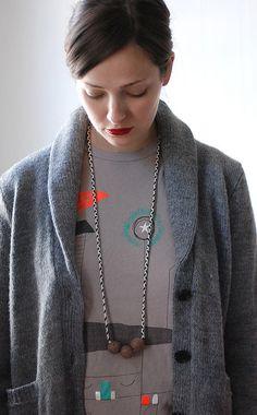 new wiksten necklace by wikstenmade, via Flickr
