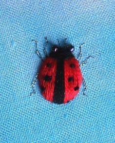 Stumpwork Ladybird Tutorial by Sew in Love