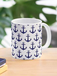 """Anchor"" Mug by basicallyme247   Redbubble Custom Mugs, Anchor, Ceramics, Tea, Coffee, Tableware, Christmas, Prints, Design"