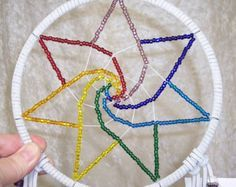 7 chakra dreamcatcher - Google Search (are u serious right now? what even is this??? this is not a dreamcatcher!)