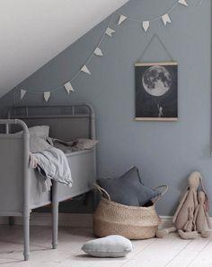 Vintage Scandi style nursery inspiration | Apartment Apothecary