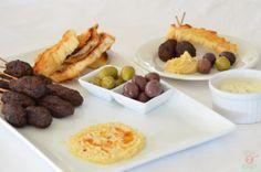 Middle Eastern Meze Platter