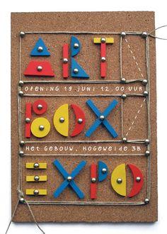 flyer artbox exhibition 2009