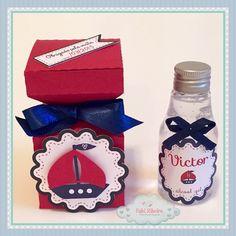 Maternidade, papelaria personalizada, embalagem, álcool gel, scrapfesta, marinheiro, náutico,  lembrancinha personalizada