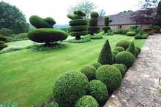 Christine Facer Landscape Designer - Projects - Througham Court Garden Cotswolds Gloucestershire