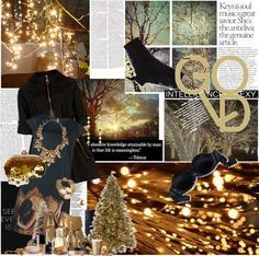 """GOLD"" by the-dawn ❤ liked on Polyvore"
