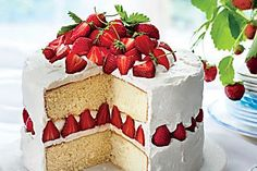These cakes are pretty as a picture and just sweet enough to keep you coming back for more.