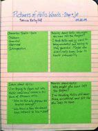 This is an amazing website for reading and writing ! (guided Post-its from read aloud )