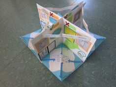 Osmosis - four room pop-up book. Could be used for other topics, too.