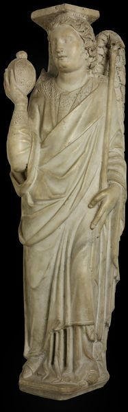 The Archangel Gabriel | Pisano, Nicola | V Search the Collections From Pisa,Italy,ca1260 marble Medieval
