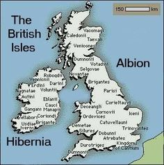 The Celtic tribes of Britain and Ireland, according to Ptolemy c. 150 AD CORNOVI tribe in my mitDNA(Shroshire, Staffordshire, Cheshire).