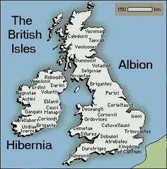 The Celtic tribes of Britain and Ireland, according to Ptolemy c. 150 AD CORNOVI tribe in my mitDNA(Shroshire, Staffordshire, Cheshire).