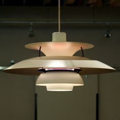 The beautiful vintage PH5 is one of the most recognizable designs by Danish lighting designer, Poul Henningsen.