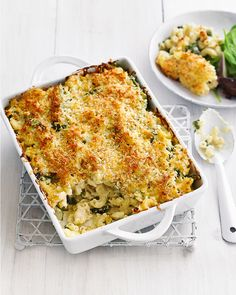 This vegetarian pasta bake recipe is fast enough for midweek cooking. It's the ultimate comfort food for chilly nights.