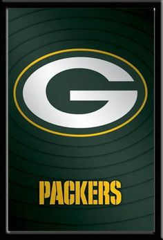Take a look at this Green Bay Packers poster featuring their NFL Logo! #GreenBayFan