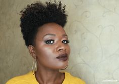 SIX Hairstyles on a Tapered Cut| Natural Hair - Lisa a la mode