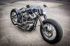 Bobber Inspiration | Harley-Davidson bobber Source:... | Bobbers and Custom Motorcycles