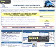 tachotutorial.com: Digital tacho card tutorial with tachograph simulator, tacho symbols How to use digital tachograph, a tacho card tutorial...