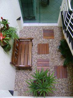 PAISAGISMO: JARDINS DE INVERNO BY MC3: Jardins de inverno modernos por MC3 Arquitetura . Paisagismo . Interiores