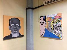 Reposting @jandroitu: FRANKENSTEIN & FORGET ME ( 80 x 80 x 5 cm) .- Pintura acrílica sobre tableros de madera. Puedes verlos con más detalle en https://jandroitu.blogspot.com.es  #colour #blue #contemporaryart #artcollector #lines #artcurator #artepop  #orange #line #art #artwork #artist #outline #artgallery #newartwork #progress #fineart #myart #paintings #creative #draw #arte #dibujo #acrylic #painting #colourful #frankenstein #picasso #girl #cuadros
