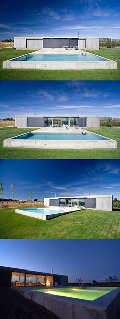 Anton House - Madrid-based studio Javier de Antón Freile has designed the Anton house, a 1,184 square foot vacation home located in Zamora, a city in Castile and León, Spain.