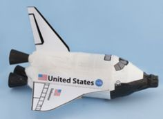 Printable Space Shuttle Model Living & Working in Space