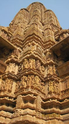 Hindu Mandir Carved from rock - India Indian Temple Architecture, Amazing Architecture, Art And Architecture, Architecture Details, Beautiful Buildings, Beautiful Places, Hindu Mandir, Amazing India, India Travel