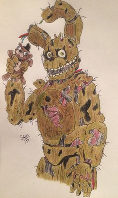 Springtrap. You just got Springtrapped!!