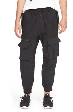 Y-3 Pieced Cargo Pants. #y-3 #cloth #