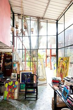 inspiring studio spaces. | sfgirlbybay | Bloglovin'