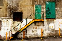 Photography Montreal Urban Decay - Unsafe Access - 12x18. $34.00, via Etsy.