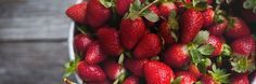 Avoid food spoilage and wasted money by following Glad®'s food storage tips for Strawberries.