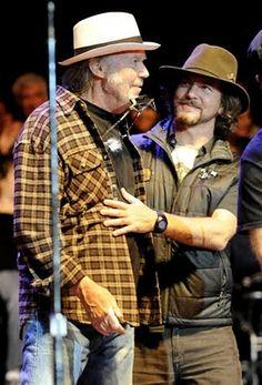 Neil Young with Eddie Vedder @ Bridge 2011