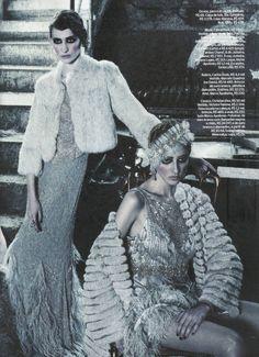 Christina, Debora, Lovani & Luana | Bob Wolfenson | Elle Brazil May 2012 | 20sStyle - 3 Sensual Fashion Editorials | Art Exhibits