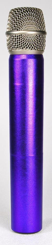 METALLIC PURPLE WIRELESS MICFX Microphone Sleeve