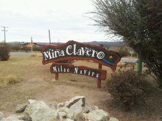 Entrada de Mina Clavero en Córdoba
