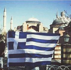 """Ελληνικός Πατριωτισμός on Instagram: """"Ελληνική σημαία θα σηκώσουμε και πάλι στην πόλη ! Η ώρα είναι κοντά ! ⚔🇬🇷🇬🇷🇬🇷🇬🇷🇬🇷🇬🇷🇬🇷🇬🇷⚔🇬🇷🇬🇷🇬🇷🇬🇷🇬🇷🇬🇷🇬🇷🇬🇷🇬🇷⚔ . . . . . . . #Greek #Greeks…"""" Greek History, Taj Mahal, Beautiful Places, Greek Flag, World, Building, Instagram, Travel, Greece"""