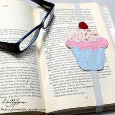 SWAP 5 ANNI INSIEME #4 - SEGNALIBRO CUPCAKE IN FELTRO + FREE PATTERN (LINK) - HobbysSimo