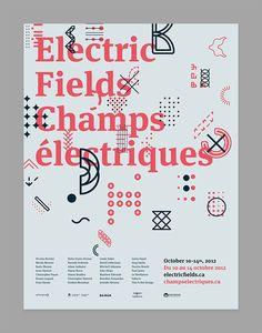 Electric Fields 2012 Simon Guibord — Designspiration